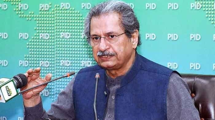 Not a holiday, revise courses and do your homework, Shafqat Mahmood tells students