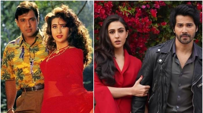 Sara Ali Khan on 'copying' Karisma Kapoor in her upcoming film 'Coolie No 1'