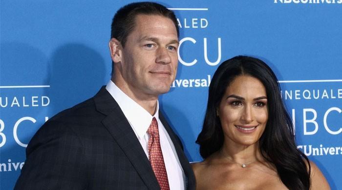 John Cena's ex Nikki Bella Congratulates Him on Wedding with Shay Shariatzadeh