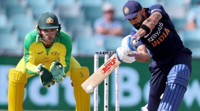 India's Kohli scores fastest 12,000 ODI runs in match against Australia to cross Sachin Tendulkar