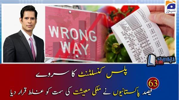 Shahzad Iqbal | Mulki Maeeshat aur Plus Consultant Survey