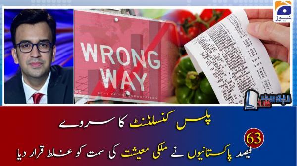 Muneeb Farooq | Mulki Maeeshat aur Plus Consultant Survey