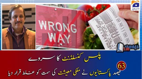Mazhar Abbas | Mulki Maeeshat aur Plus Consultant Survey