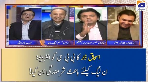 Ishaq Dar Ka BBC Ko Interview, Kia PML-N Ke Liye Baais-e-Sharmindagi Ban Gaya?