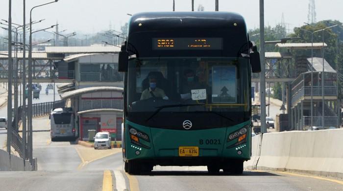 52 detained in KP for violating coronavirus SOPs at Peshawar BRT stations, stops