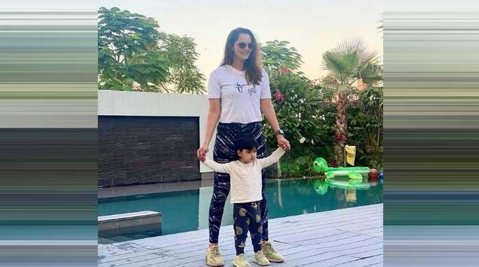 Sania Mirza shares adorable video with son Izhaan Mirza Malik