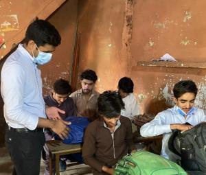 Bhera assistant commissioner's unique approach to sealing school wins social media