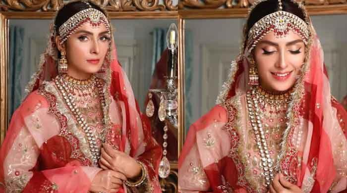 Ayeza Khan's new photos in bridal avatar stun fans