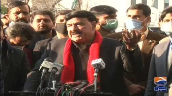 Federal Interior Minister Sheikh Rasheed challenges anti-govt PDM