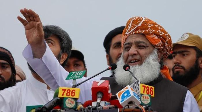 Who is PM Imran Khan to hold us accountable?: Maulana Fazl