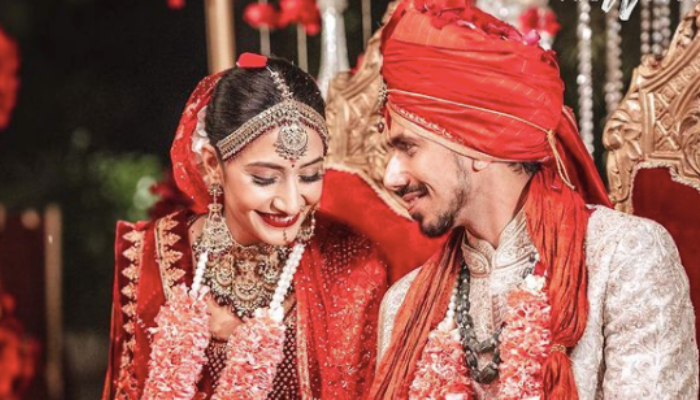 Rohit Sharma, Suresh Raina and others congratulate newlyweds Yuzvendra Chahal & Dhanashree Verma
