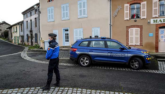 Three police officers killed in shooting in central France, suspect found dead