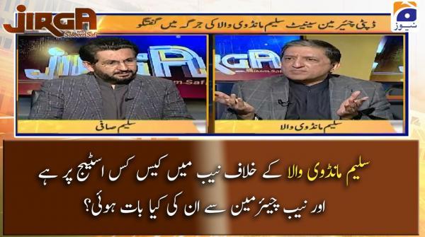 Saleem Mandviwalla ke khilaf NAB mein Case kis stage par hai?