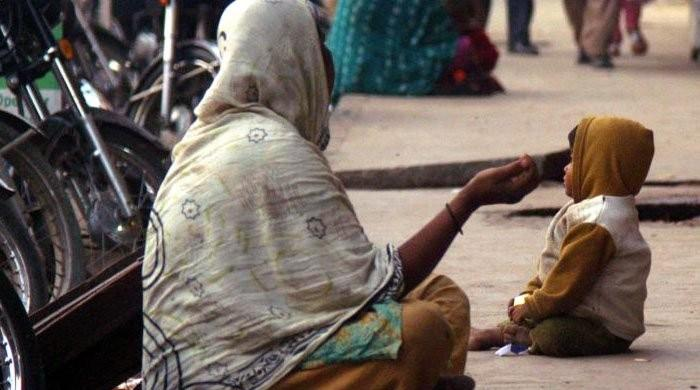 Karachi beggars suspected to be using abducted children: police