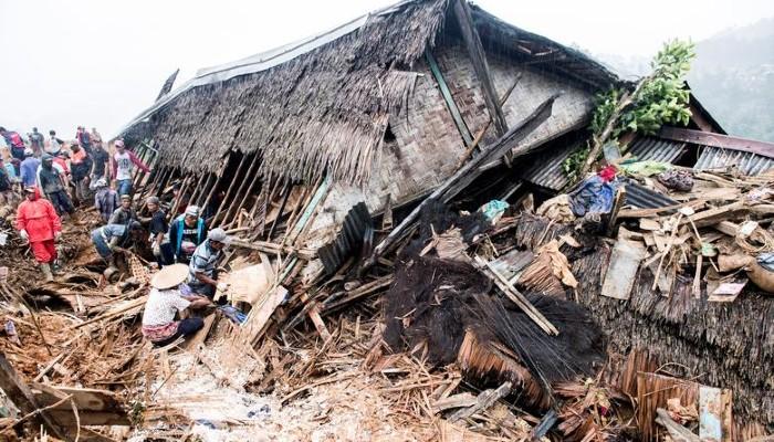 Indonesia landslides kill 11 in West Java