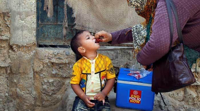 Pakistan starts first polio vaccine campaign of 2021
