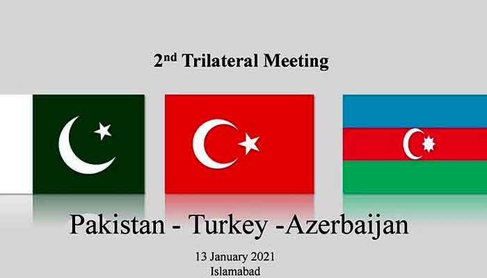 Second trilateral meeting of Pakistan, Turkey, Azerbaijan today