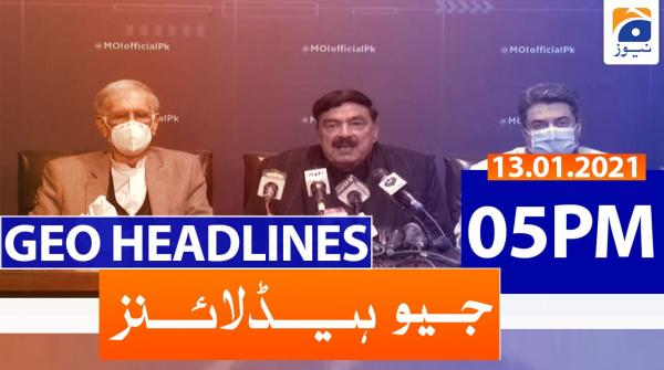 Geo Headlines 05 PM | 14th January 2021
