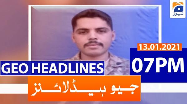 Geo Headlines 07 PM | 14th January 2021