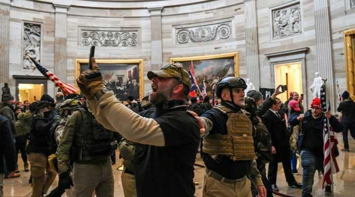 US Capitol was stormed by highly trained ex-military personnel: report