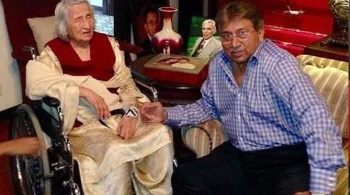 Former president Gen Pervez Musharraf's mother passes away