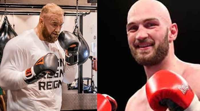 Game of Thrones' The Mountain vs Irish boxer Steven Ward: Exhibition bout today in Dubai
