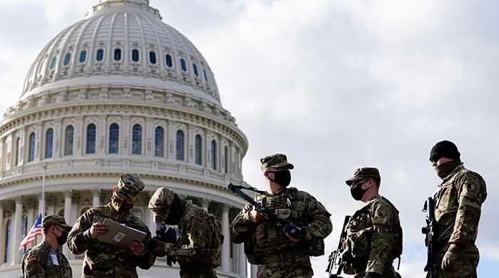 Law enforcers outnumber protestors in US capitols