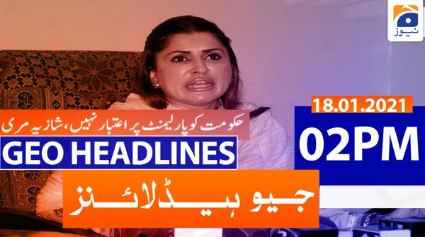 Geo Headlines 02 PM | 18th January 2021