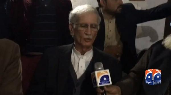 Imran Khan has presented himself to ECP, opposition will also have to give account details, says Pervez Khattak