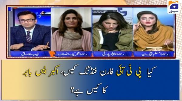 Kia PTI Foreign Funding Case Akbar S Babar Ka Case Hai