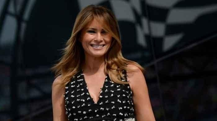 Melania Trump urges Americans to be passionate, but remain non-violent