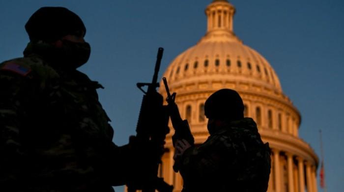 FBI screens troops ahead of Biden's inauguration to ensure top security