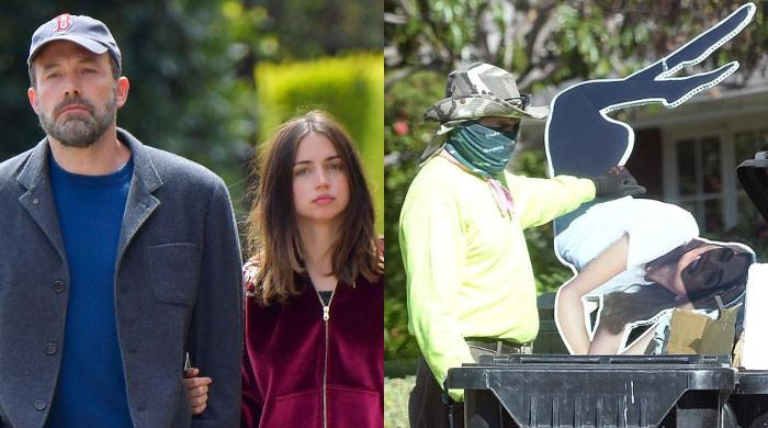 Ben Affleck trashes life-sized Ana de Armas cut out after breakup