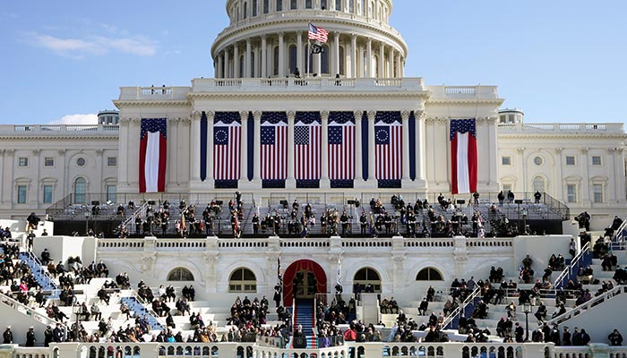 U.S. President Joe Biden speaks during the 59th Presidential Inauguration at the U.S. Capitol in Washington January 20, 2021. — Reuters