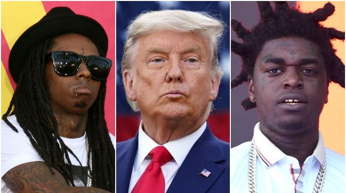 Donald Trump grants clemency to Lil Wayne, Kodak Black