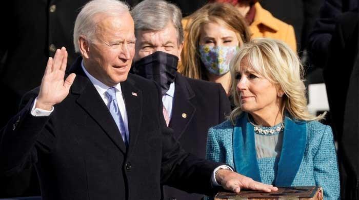WATCH: Joe Biden takes oath as president of the United States