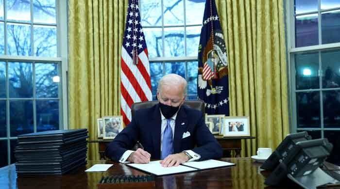 Joe Biden takes office, reverses Trump era's Muslim ban