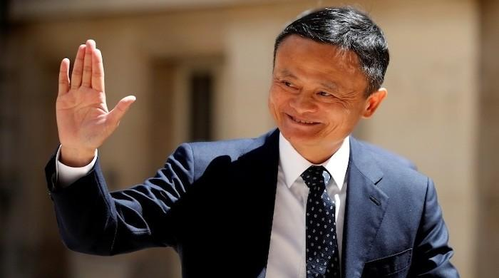 Jack Ma makes first public appearance since October 2020