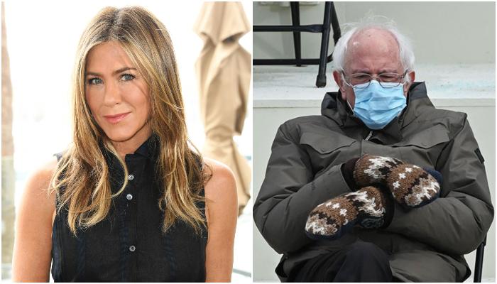 Jennifer Aniston Is Feeling The Bern With These Bernie Sanders Memes