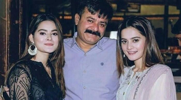 Aiman, Minal Khan remember late father in tear-jerking post