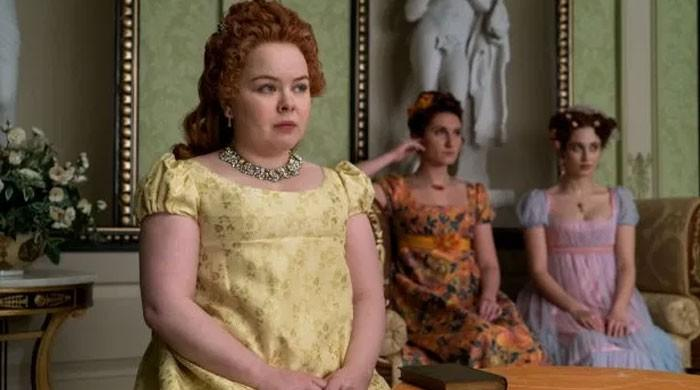 'Bridgerton's' Lady Whistledown comes out 'with the latest gossip'