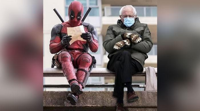 Ryan Reynolds' Deadpool meme with Bernie Sanders leaves netizens in stitches