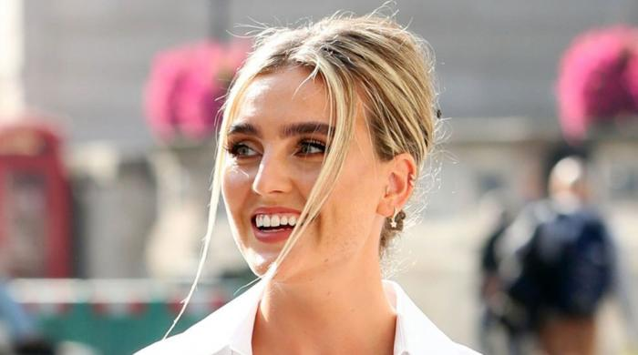 Perrie Edwards recalls 'sounding like a frog' after tonsils became like 'balloons'