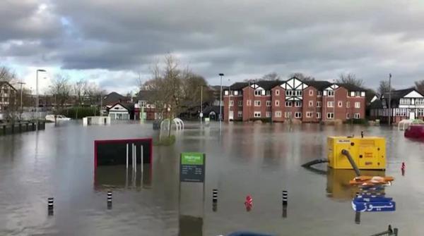 Geo News Special – UK's Boris Johnson visits flood-hit Manchester