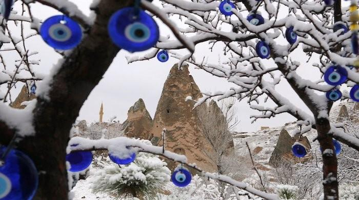 Turkey's religious authority forbids use of 'evil eye' ornaments