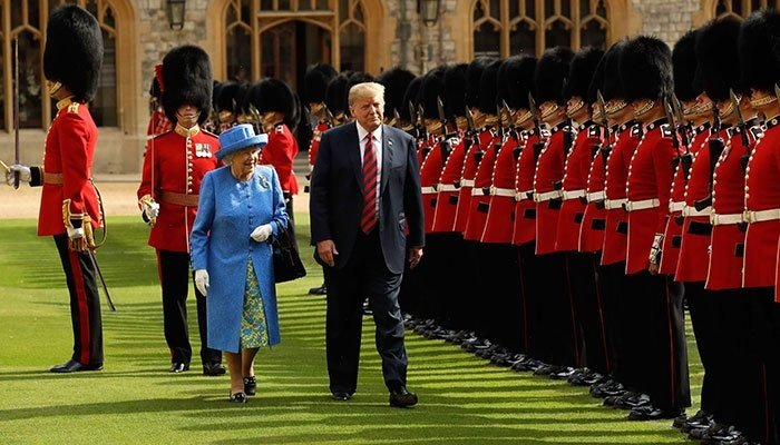 Donald Trump 'insulted Queen Elizabeth with several royal breaches - Geo News