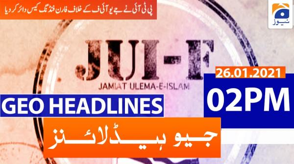 Geo Headlines 02 PM | 26th January 2021
