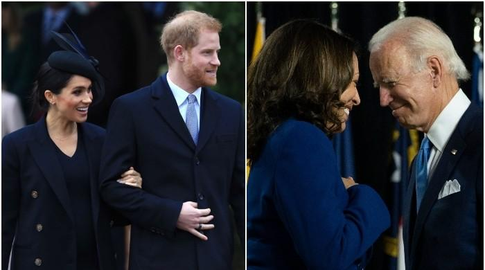 Royal expert says Kamala Harris might join Meghan and Harry on Archewell podcast