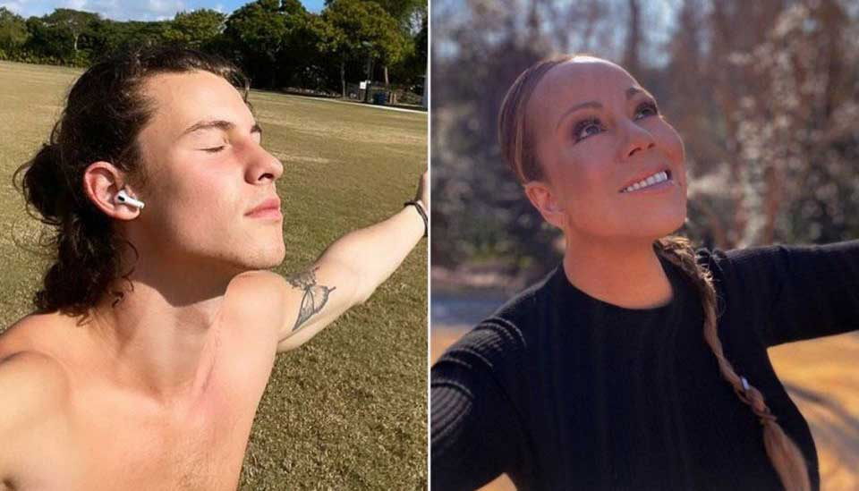 Mariah Careys recreation of Shawn Mendes post leaves fans in stitches