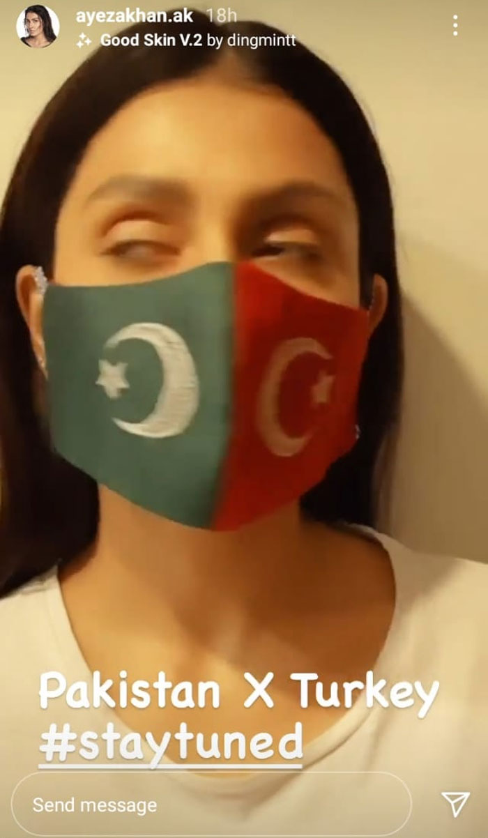 Ayeza Khan slated to shoot in Turkey